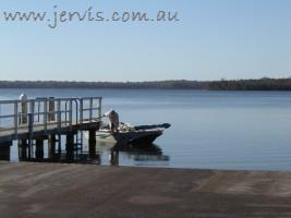 St Georges Basin boat ramp