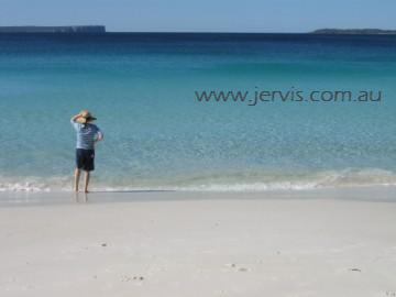 Whitest sand in the world - Hyams Beach