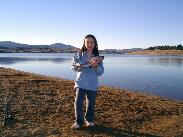 Trout fishing Lake Jindabyne